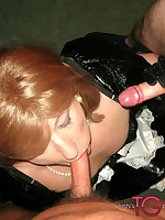 This dirty maid loves to perform for Kirsty and get fucked nice and hard