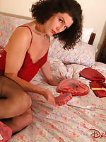 Valentine pin-up girl is a crossdresser